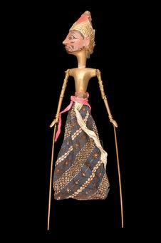 Marionnette de wayang golek : Agung Mandura Sudara Darawati