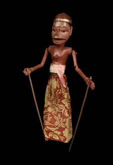 Marionnette de Wayang Golek, Togog