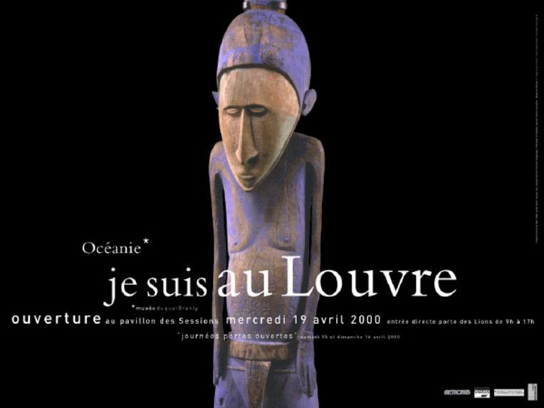 Océanie* Je suis au Louvre - Sculpture de l'île de Malo