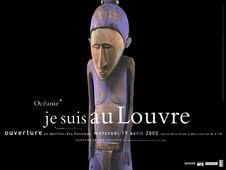 Océanie* Je suis au Louvre [sculpture de l'île de Malo]