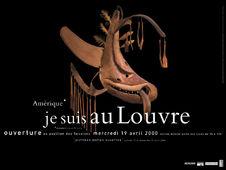 Amérique* Je suis au Louvre - Sculpture yup'ik (inuit)