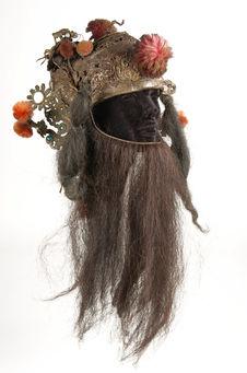Costume de théâtre : barbe