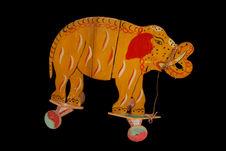Jouet en forme d'éléphant