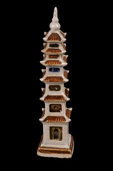 Modèle réduit de pagode