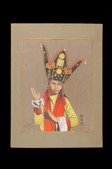 Portrait de sorcier Man Tiên