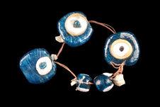 Amulettes en forme d'oeil