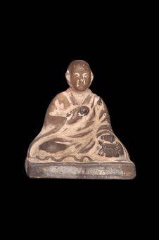 Figurine représentant Kobo Daishi