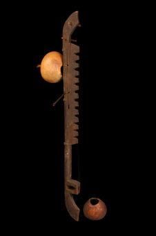 Cithare sur bâton