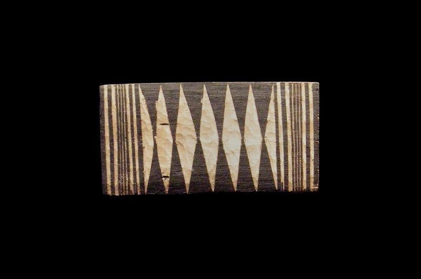 Echantillons de décors sur bois