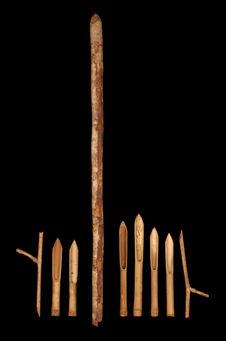 Bambous pilonnés