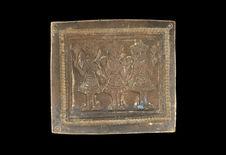 Matrice d'orfèvrerie représentant trois rois