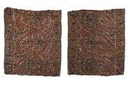Deux carrés de tissu