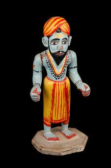 Poupée figurant Shiva