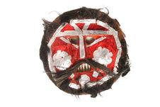 Masque figurant Raibudia