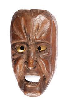 Masque décoratif ou tête de statue
