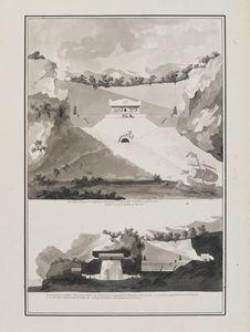 Projet de cénotaphe en l'honneur des navigateurs ayant péri lors du voyage de La...