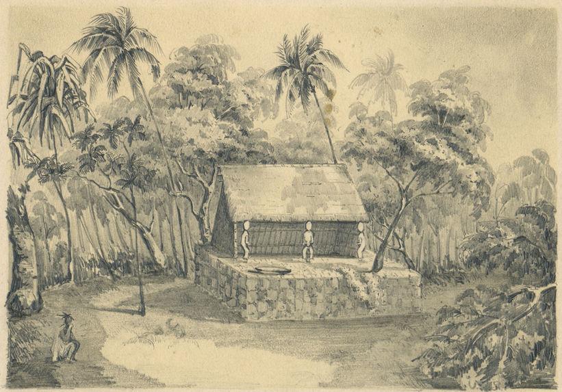 Morai in the Marquesas Islands