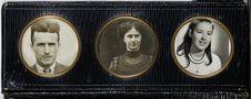 Sans titre [trois portraits]