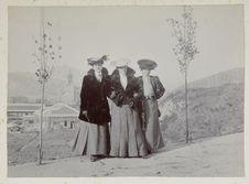 Sans titre [portrait de trois femmes]