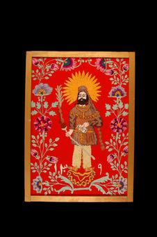 Panneau représentant Zoroastre
