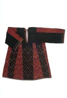 Costume de femme zoroastrienne : tunique