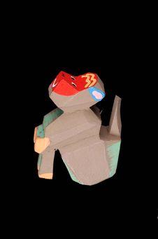 Figurine représentant un singe