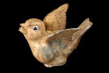Figurine représentant un oiseau