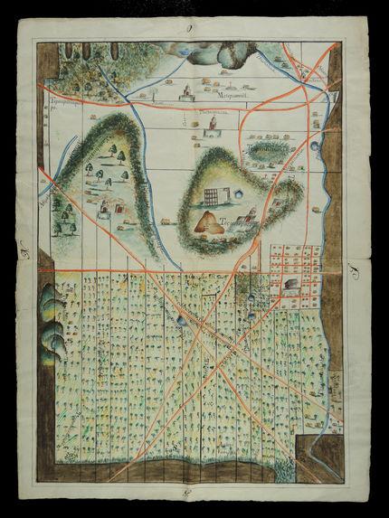 Carte du village de San Pedro Tezontepec