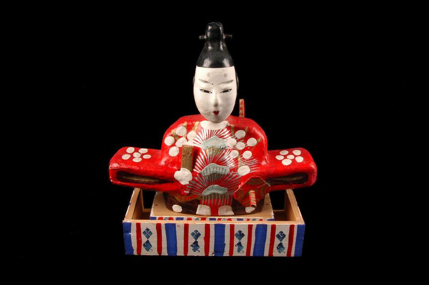 Statuette représentant Tenjin