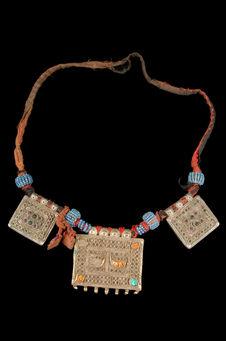Collier porte-amulette