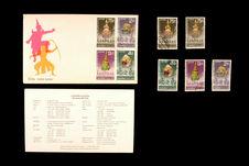 Enveloppe et timbres