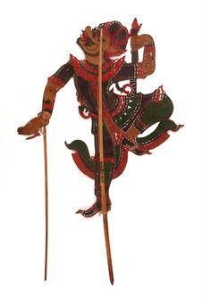 Figure d'ombres : singe
