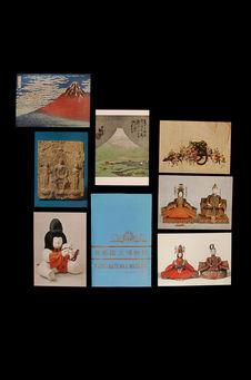 Cartes postales du musée national de Kyôto
