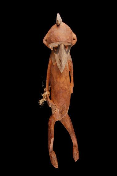 Sculpture anthropomorphe masculine