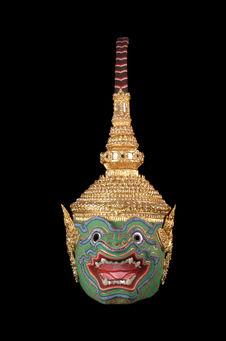 Masque de théâtre, Pali (Bali)