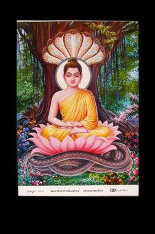 Image religieuse : Bouddha du Samedi
