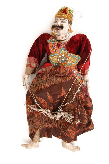 Marionnette figurant un ministre