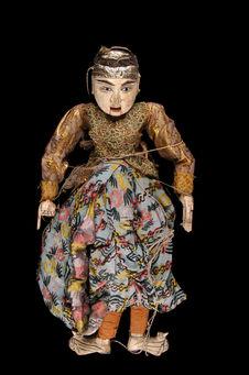 Marionnette figurant un homme