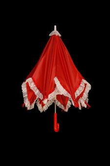 Costume de jeune fille : ombrelle