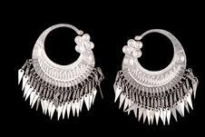 Boucles d'oreilles en aluminium