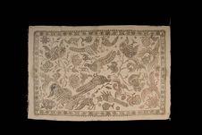 Batik : motifs en cire avant teinture