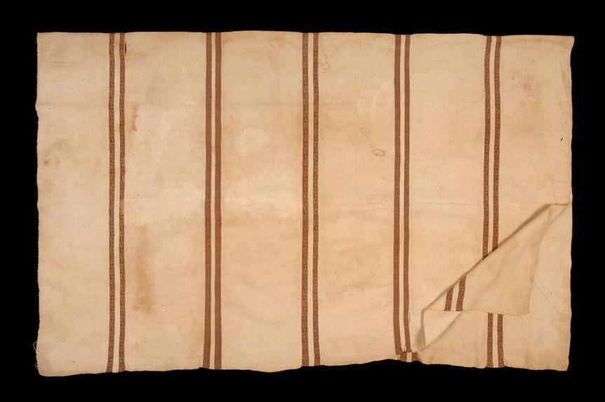 Pièce de tissu à décor zoomorphe