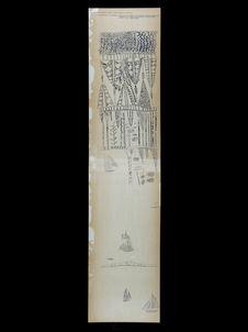 Bambou N° K.838 [motif de gravure sur bambou]