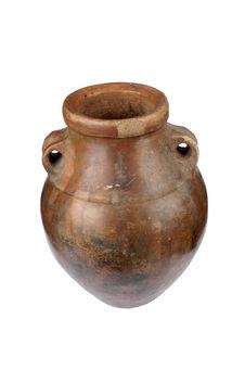 Vase à deux anses