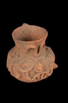 Vase à tête de Tlaloc