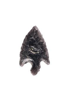 Pointe de flèche en obsidienne