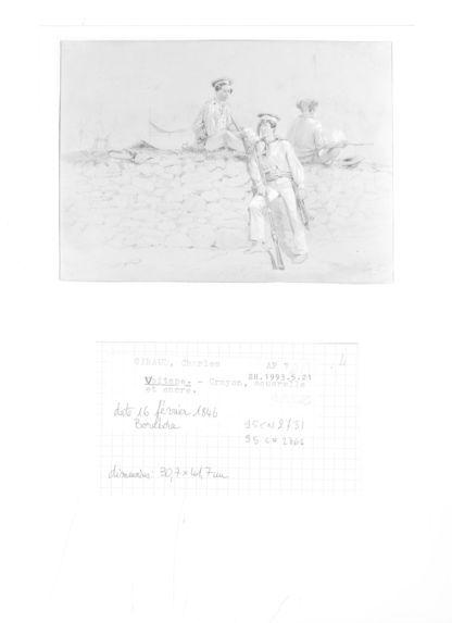 Soldats de la marine (Vaitape, Bora-Bora)