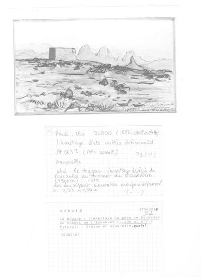 Le Hoggar : L'ermitage du père de Foucauld