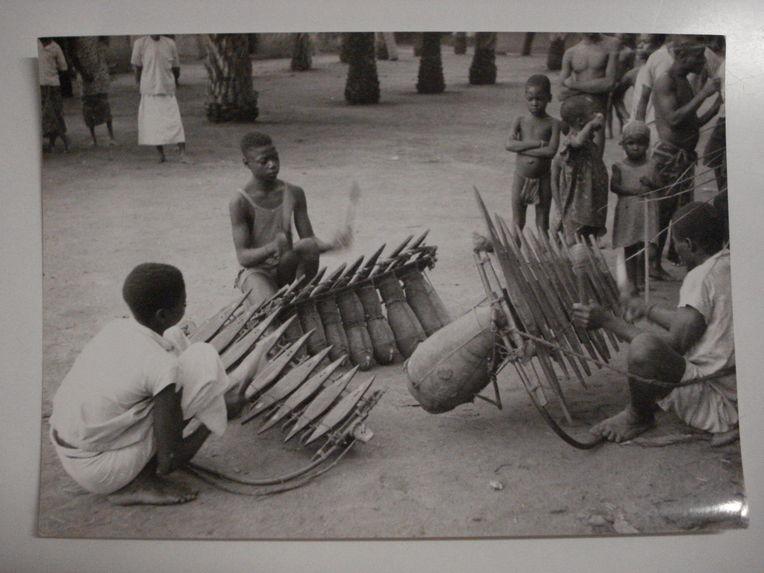 L'orchestre des trois xylophones des Yassoua