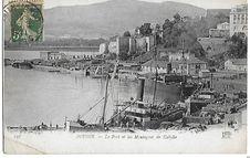 Le Port et les Montagnes de Kabylie